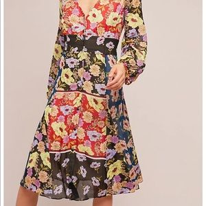 Maeve by Anthropologie Gardenia Wrap Dress!!